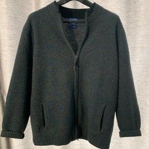 Pendleton Men's Wool Full Zip Cardigan Sweater